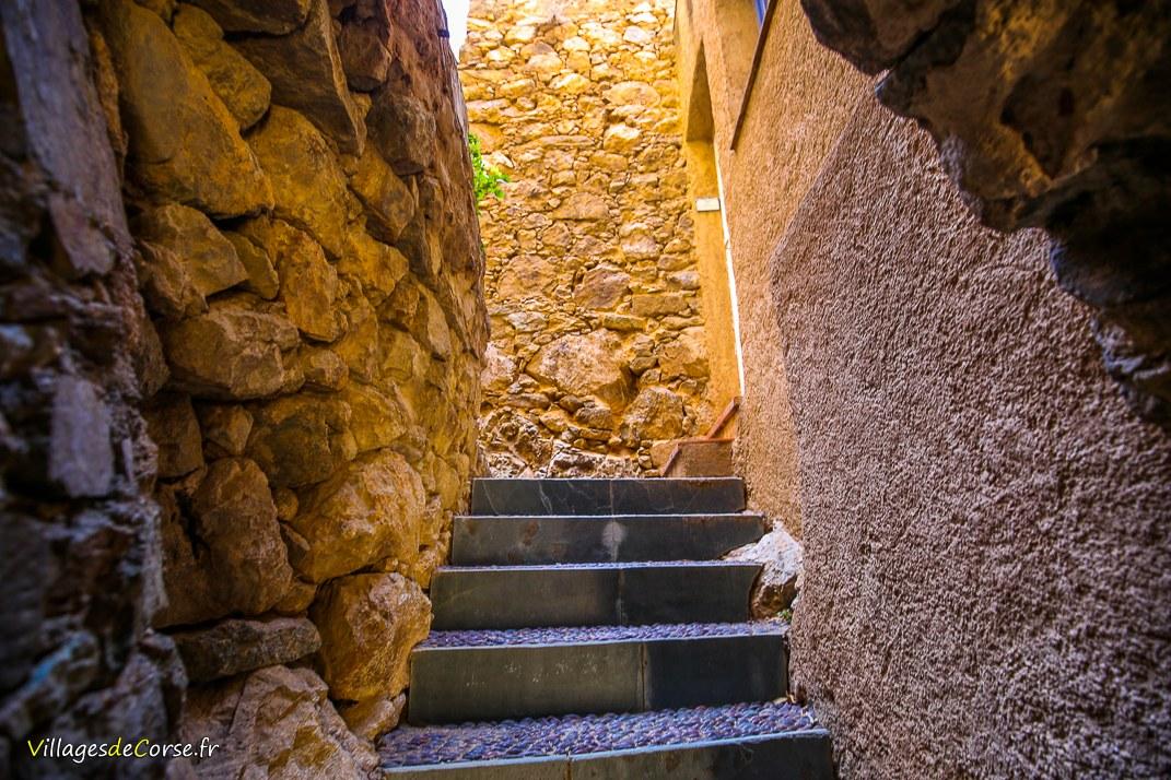 Escaliers - Pigna