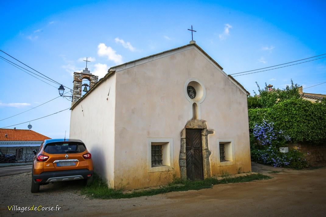Chapelle - San Bernardinu - Santa Reparata di Balagna