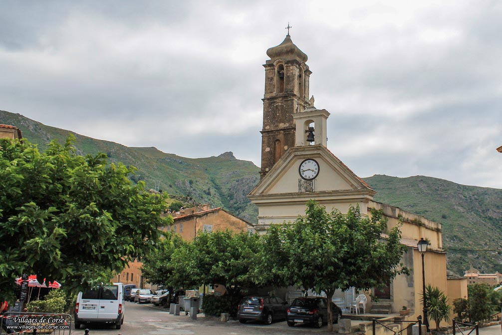 Eglise - Santa-Catalina - Speloncato