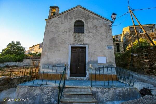 Chapelle - Saint Sébastien - Luri