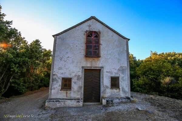 Chapelle - San Salvadore - Luri