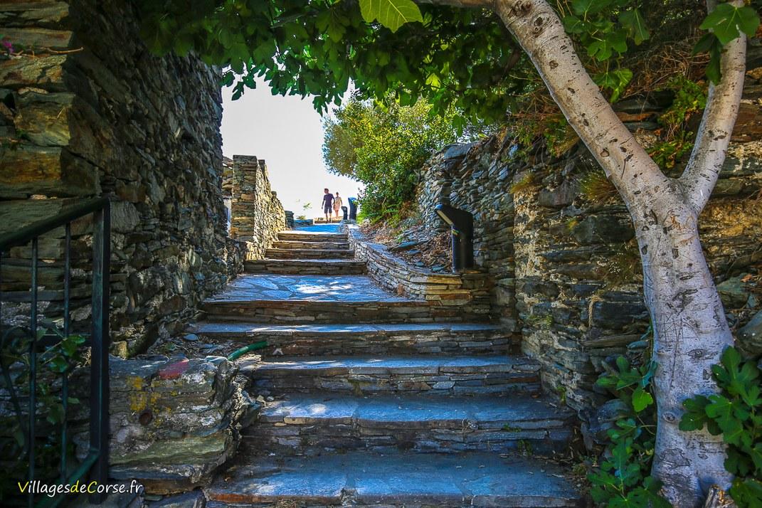 Escaliers - Nonza