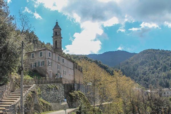 Eglise - Sainte-Marie - Castello di Rostino