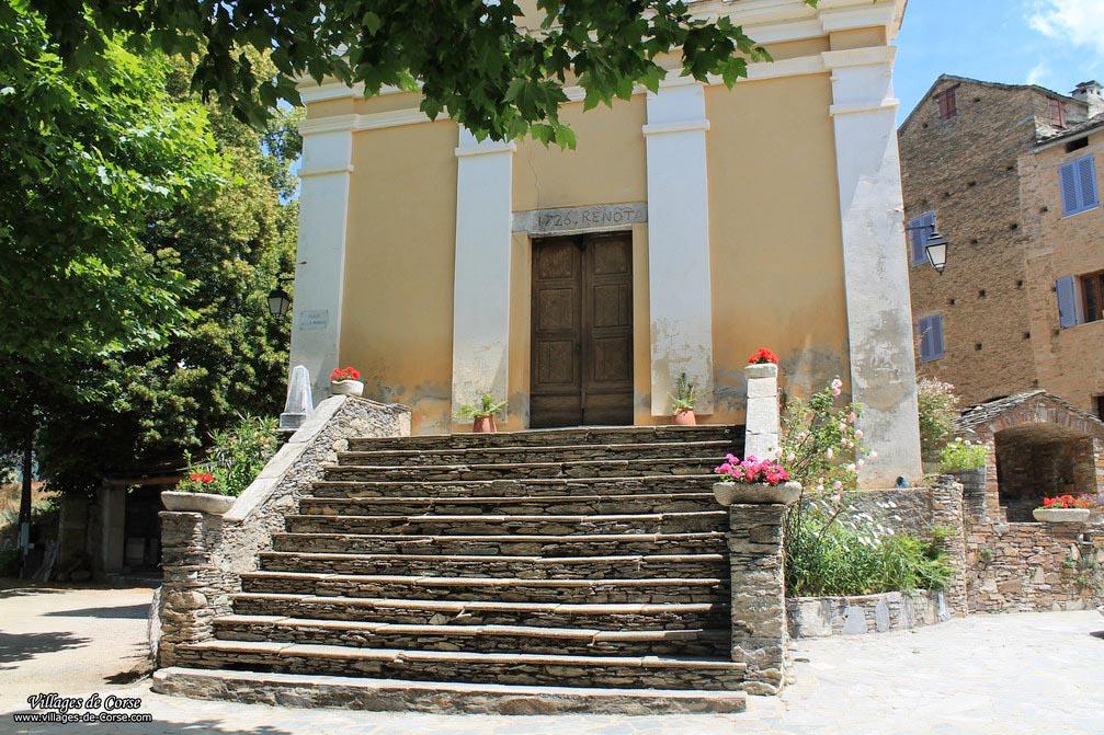 Eglise - Saint Sébastien - Castineta