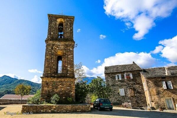 Campanile - Saint Mamilien - Monacia d Orezza