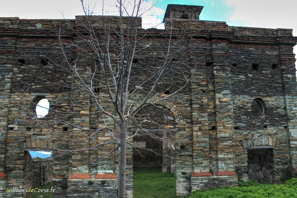 Ancienne Eglise de Carognu - Monte