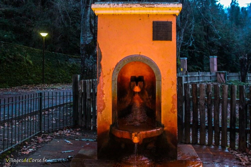 Fontaine - Orezza - Rapaggio