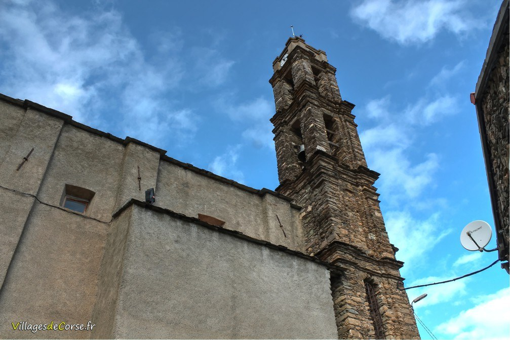 Eglises - Santa Maria Assunta - Rusio