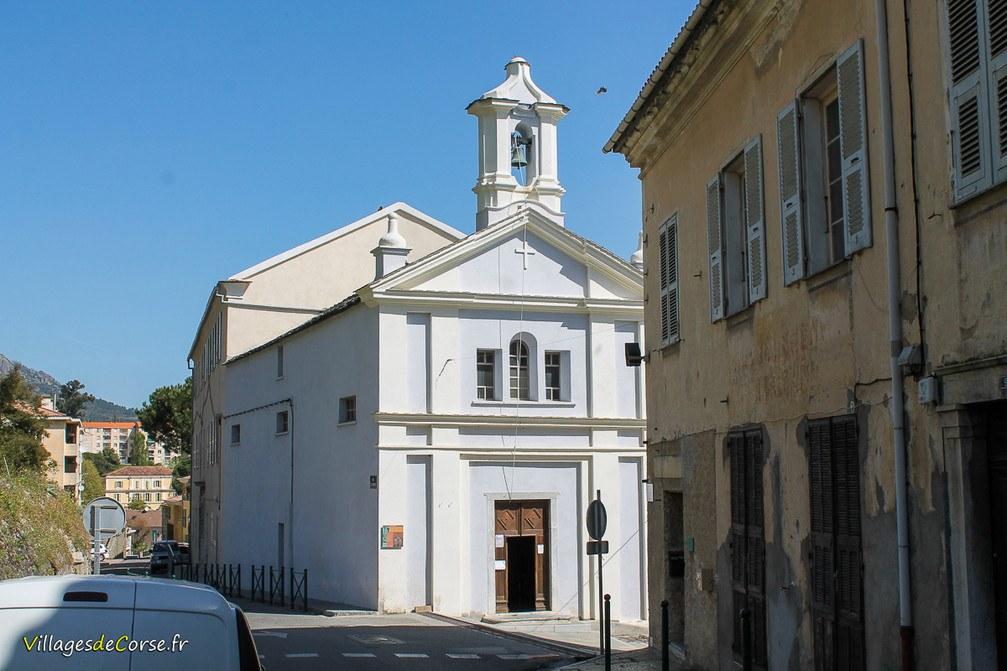 Chapelle - Sainte Croix - Corte