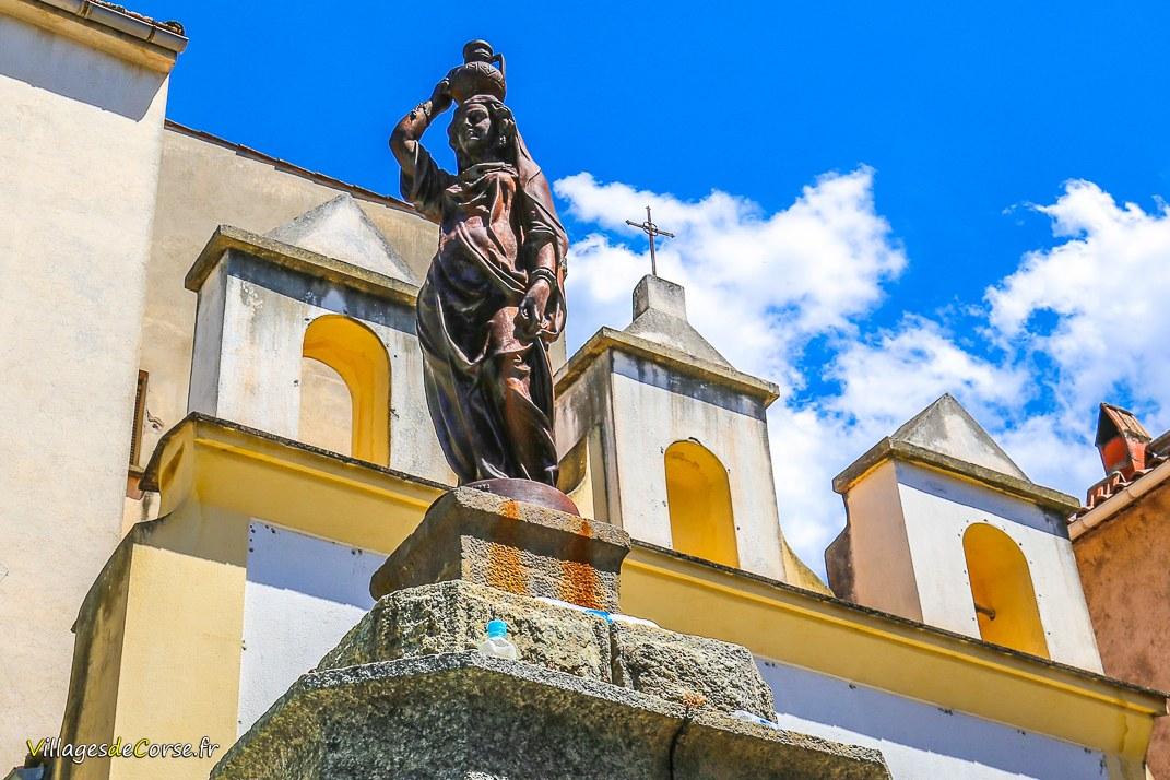 Statue - Vierge à l'Enfant - Omessa