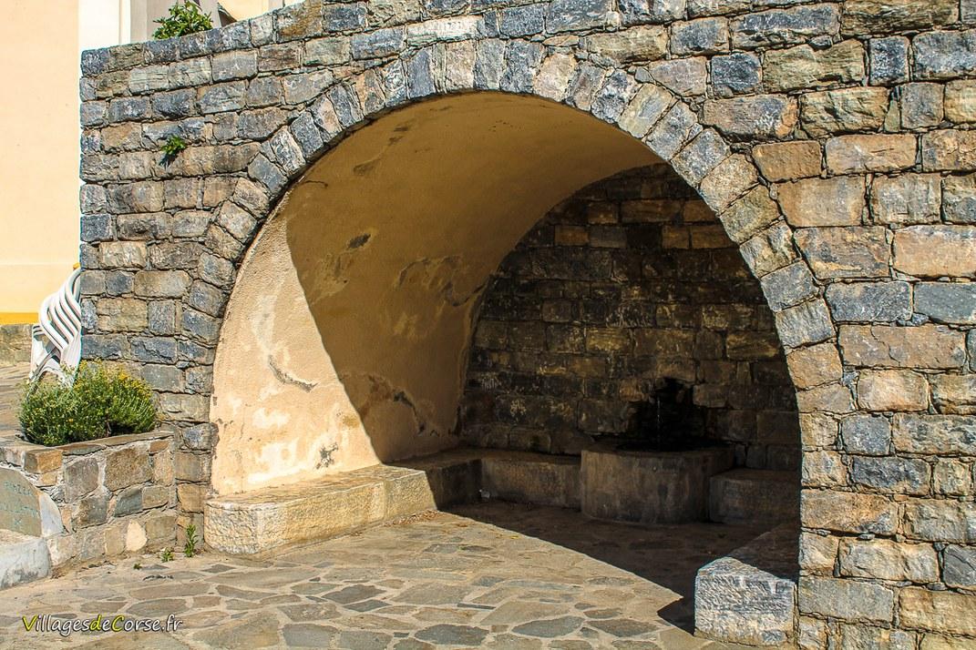 Fontaine - Santo Pietro di Venaco