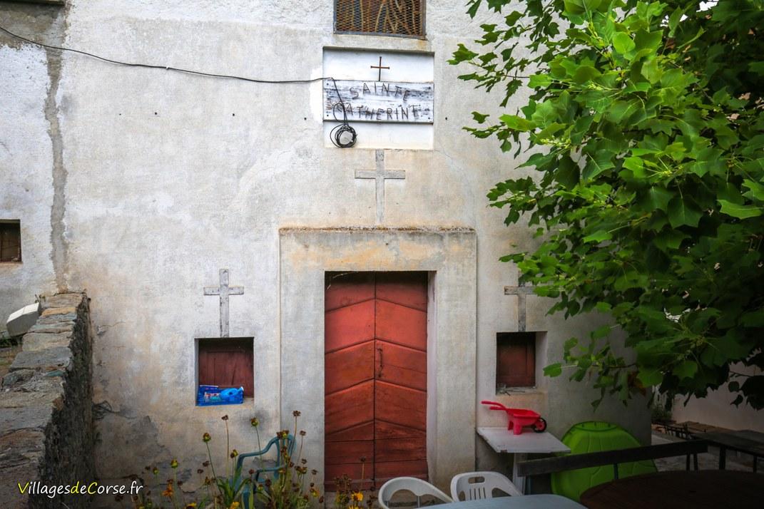Chapelle - Sainte Catherine - Venaco