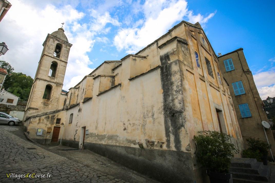 Eglise - Saint Antoine de Lugo - Venaco