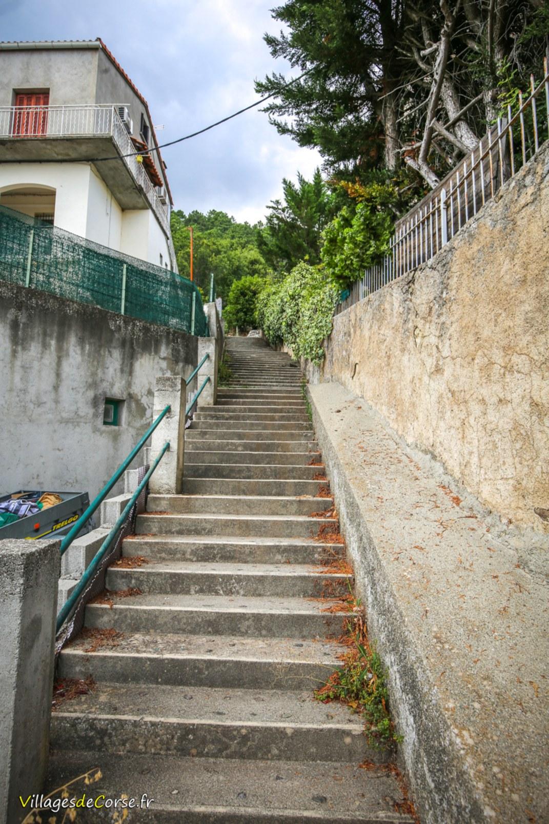 Escaliers - Venaco
