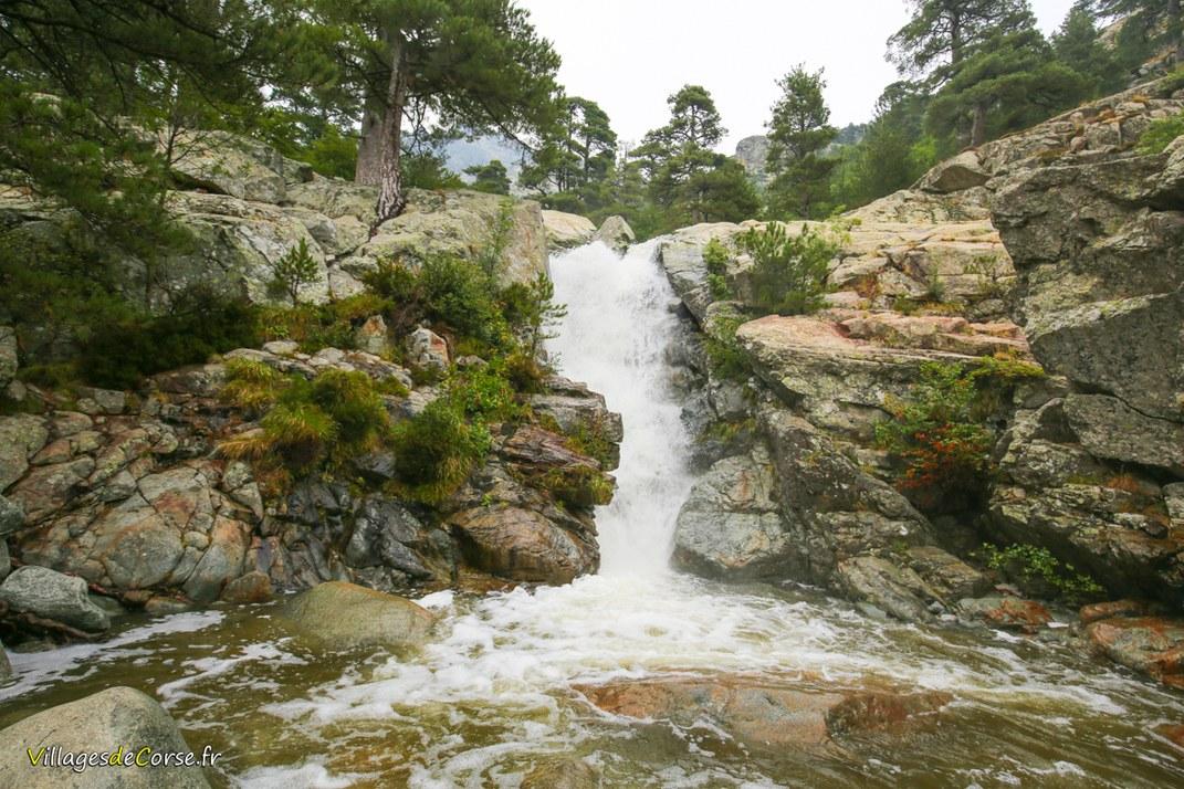 Cascade des Anglais - Vivario