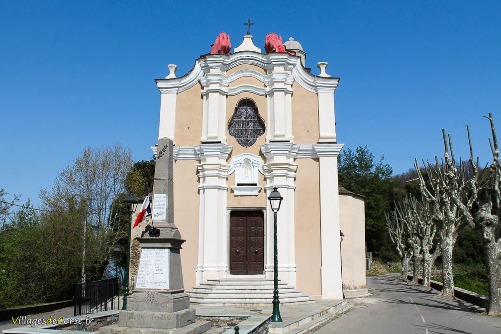 Eglise - Saint Jean-Baptiste - Poggio Mezzana