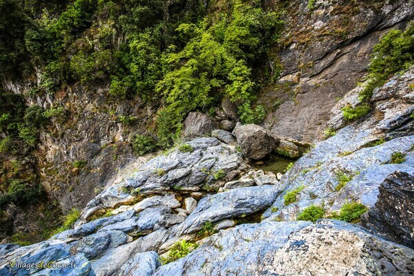 Cascade - Uccelluline - San Nicolao