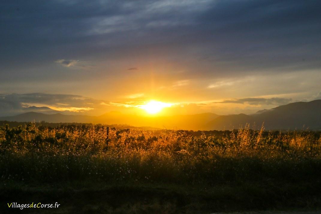 Coucher de Soleil - Valle di Campoloro
