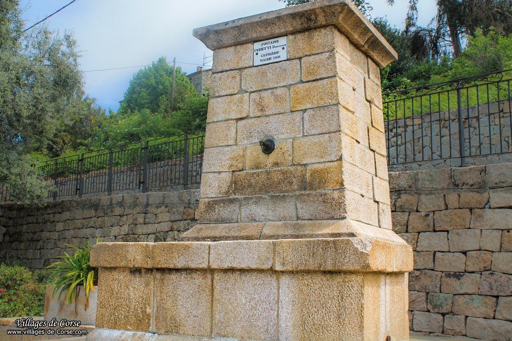 Fontaine - Sari d Orcino