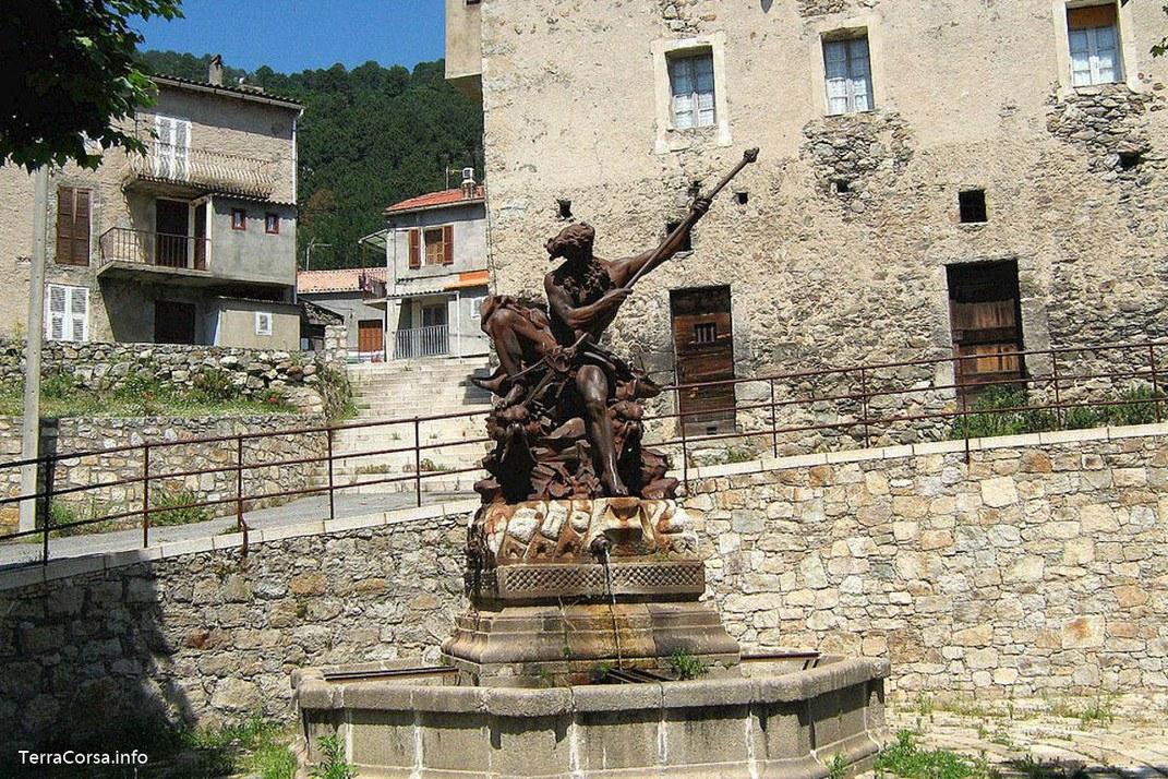 Fontaine - Neptune - Ghisoni