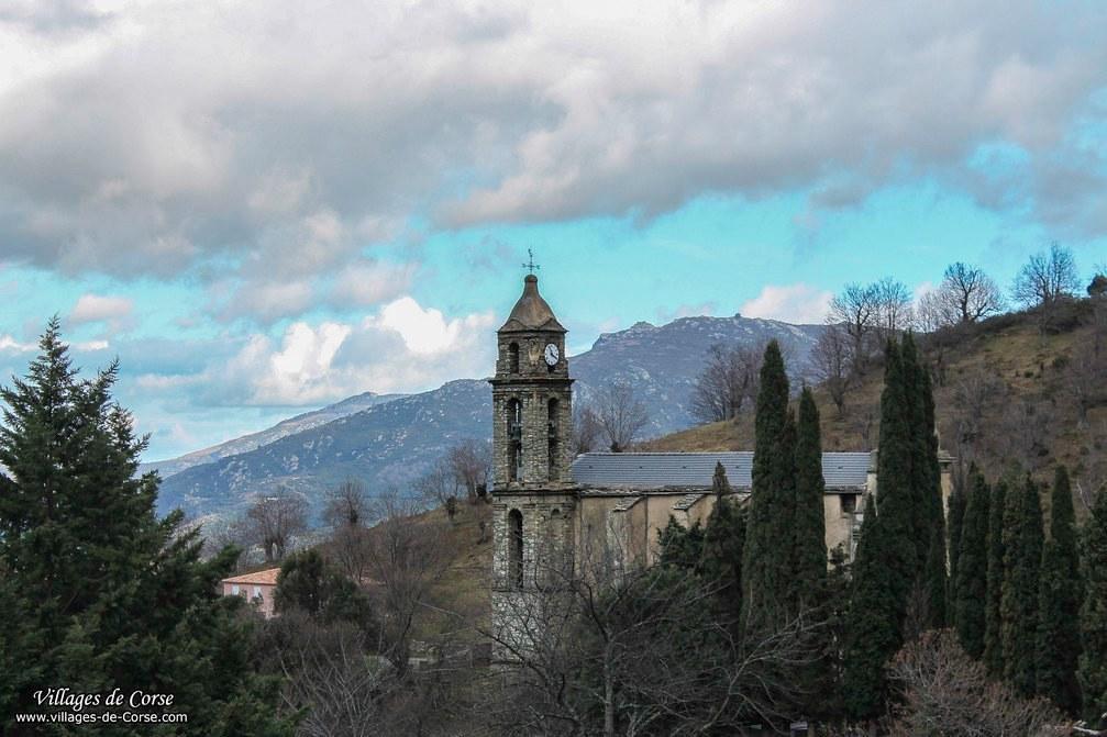 Eglise - Sainte Marie - Canavaggia