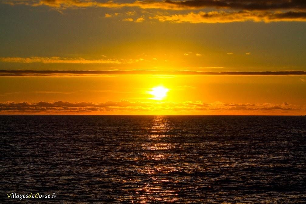 Sonnenuntergang - Ajaccio