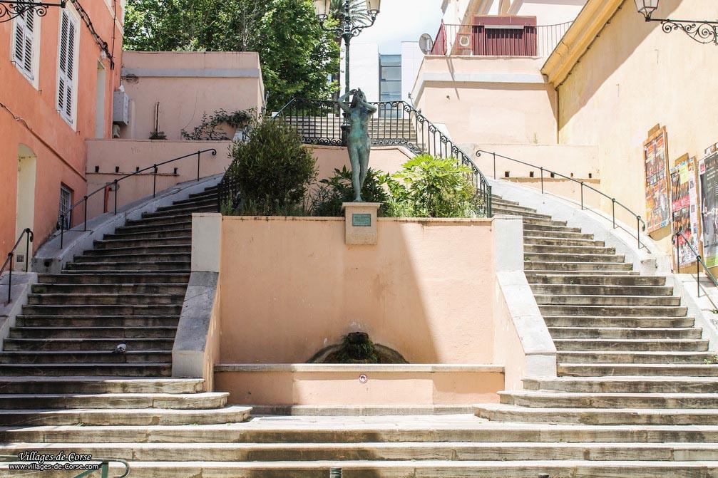 Fontaine - Venus de la Conque - Bastia