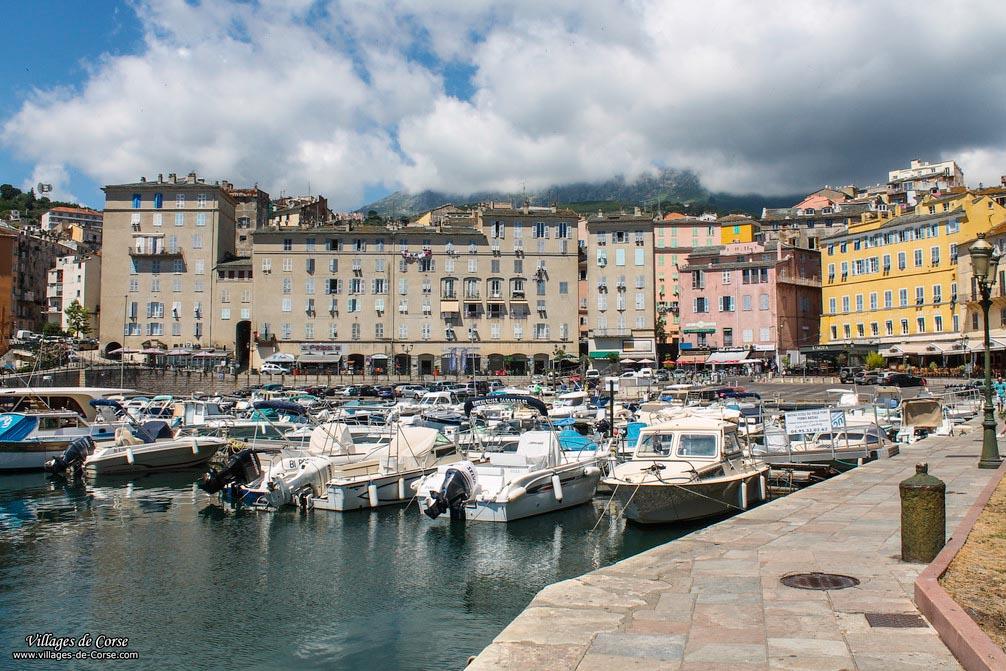 Bastia Corse La Citadelle Le Vieux Port Le Musee De Bastia