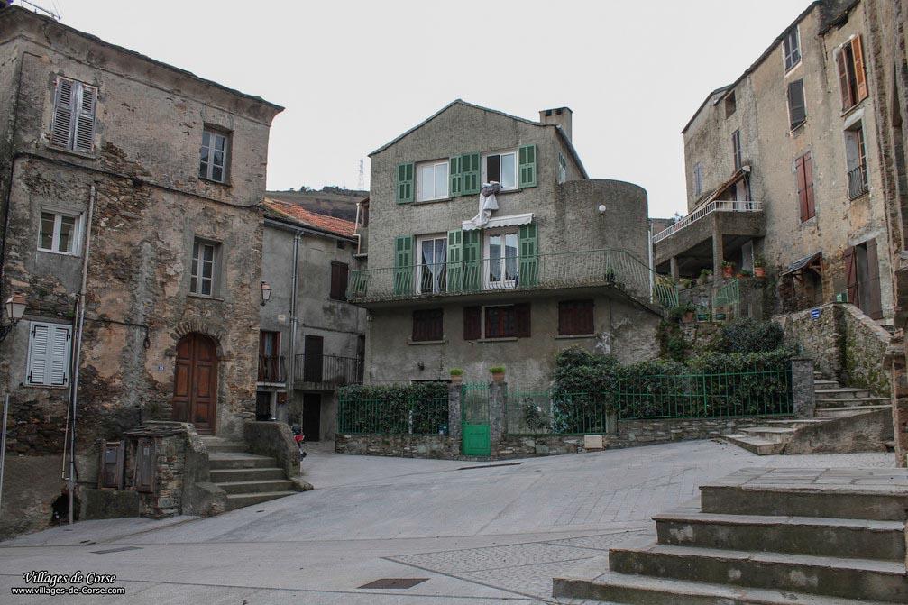Church square - Lucciana