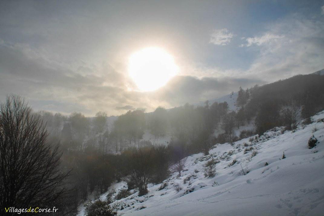 Coucher de Soleil - Bocognano