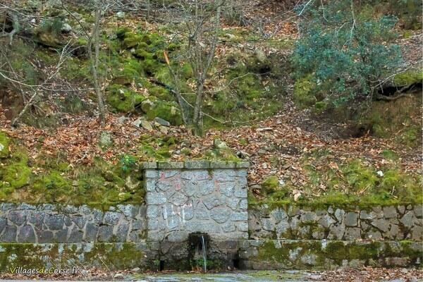 Fontaine - Bocognano