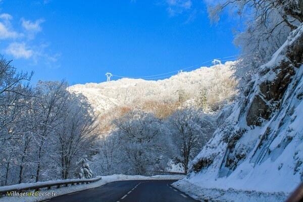 Route - Bocognano