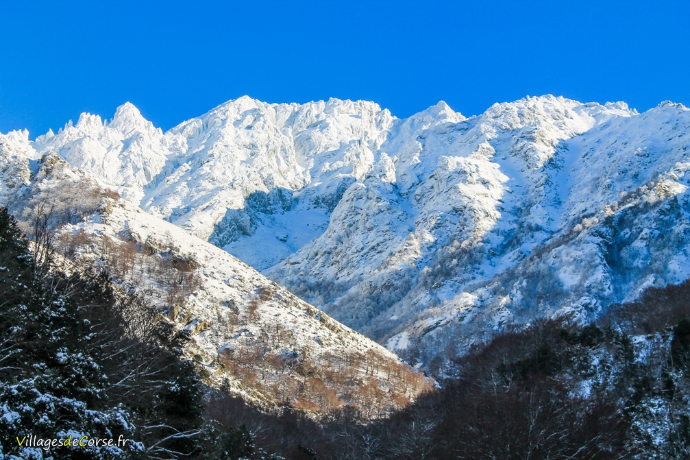 Montagne - Bocognano