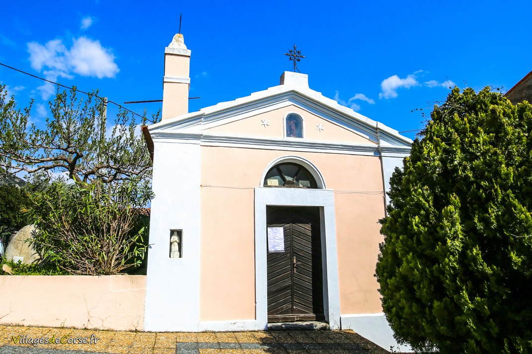 Chapelle - Sainte Marie - Sarrola Carcopino