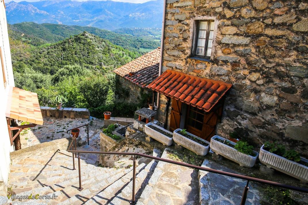 Escaliers - Sarrola Carcopino