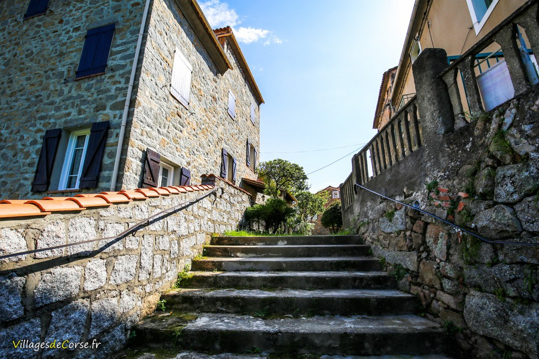 Escaliers - Valle di Mezzana