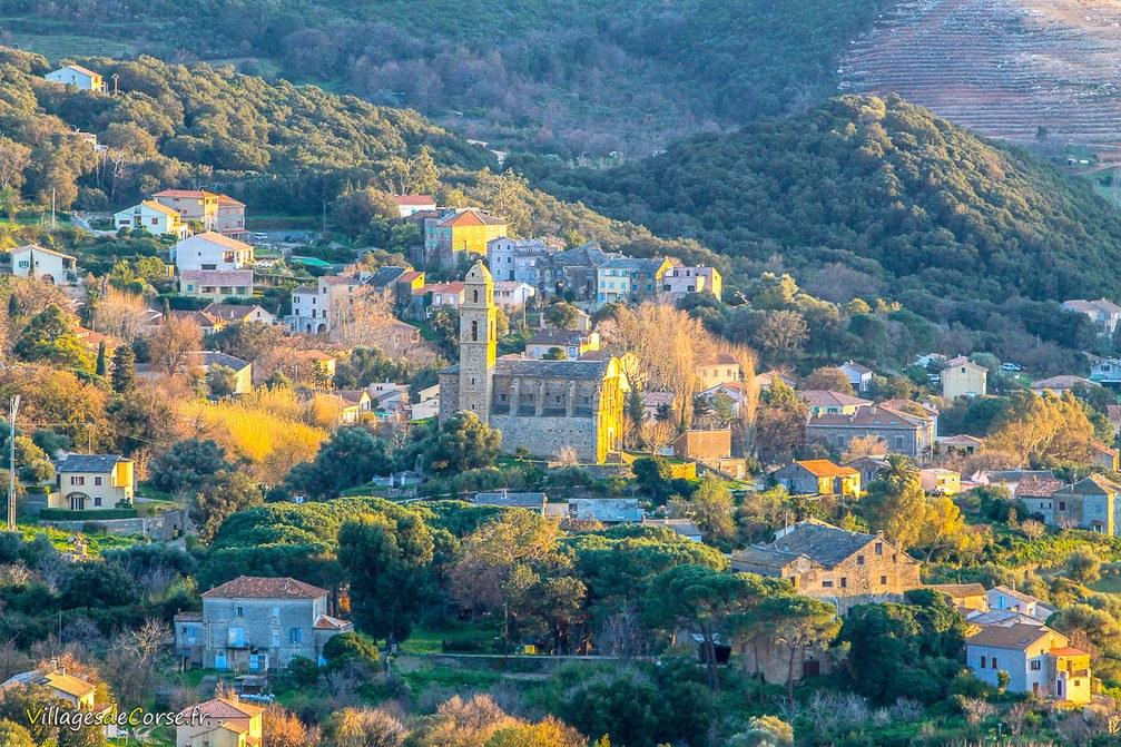 Carte Corse Barbaggio.Patrimonio Corse Eglise Saint Martin Vin Patrimonio Aoc