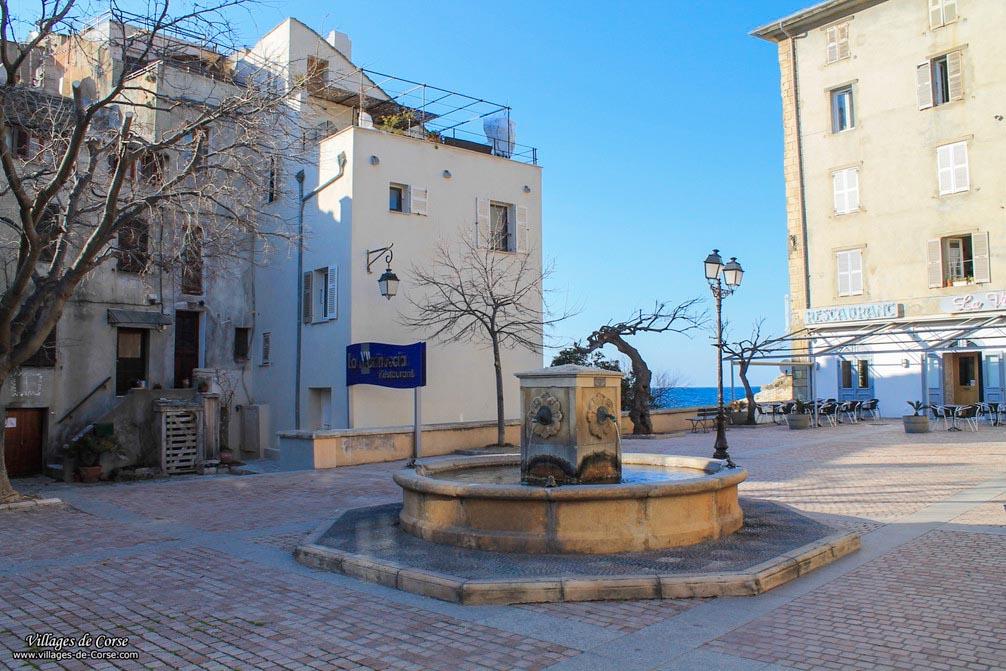 Church square - Saint Florent