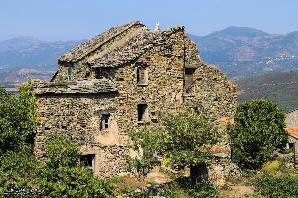 Maison en pierres - San Gavino di Tenda