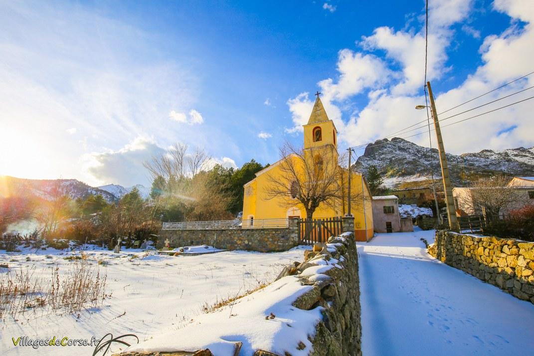 Eglise - Saint Nicolas - Albertacce