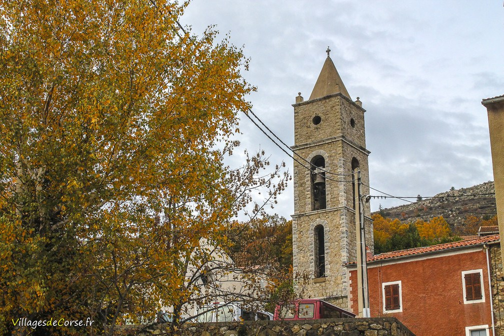 Eglise - Sainte Marie - Albertacce
