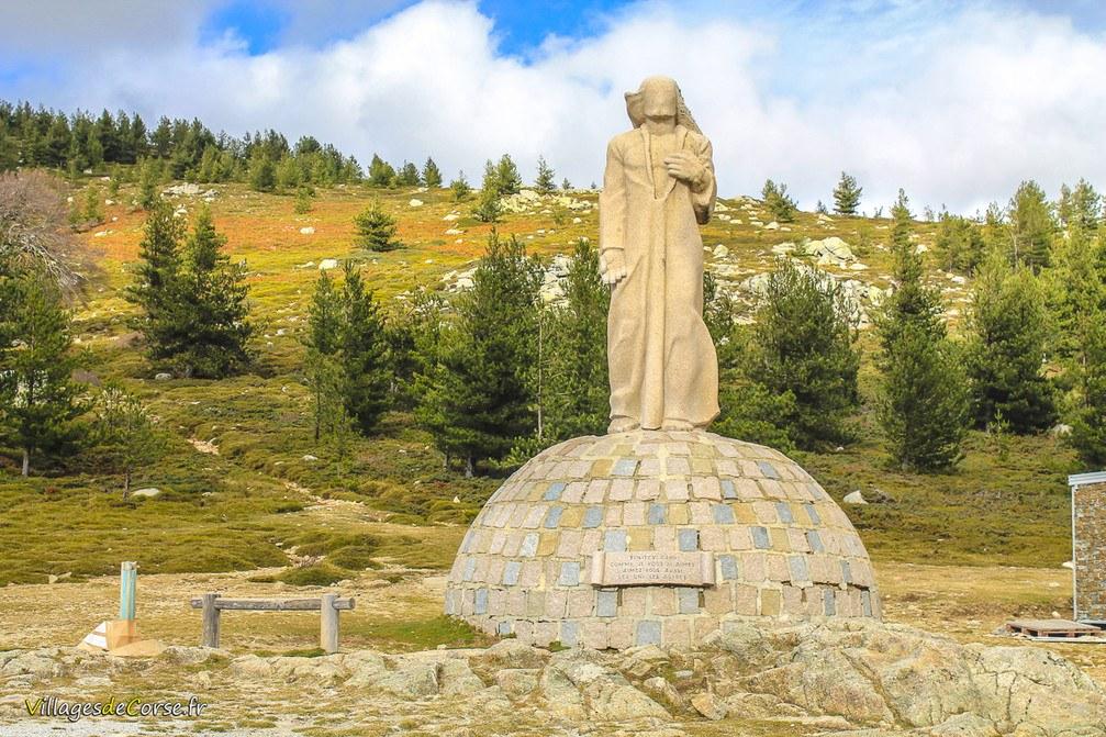 Statue - Christ Roi - Albertacce