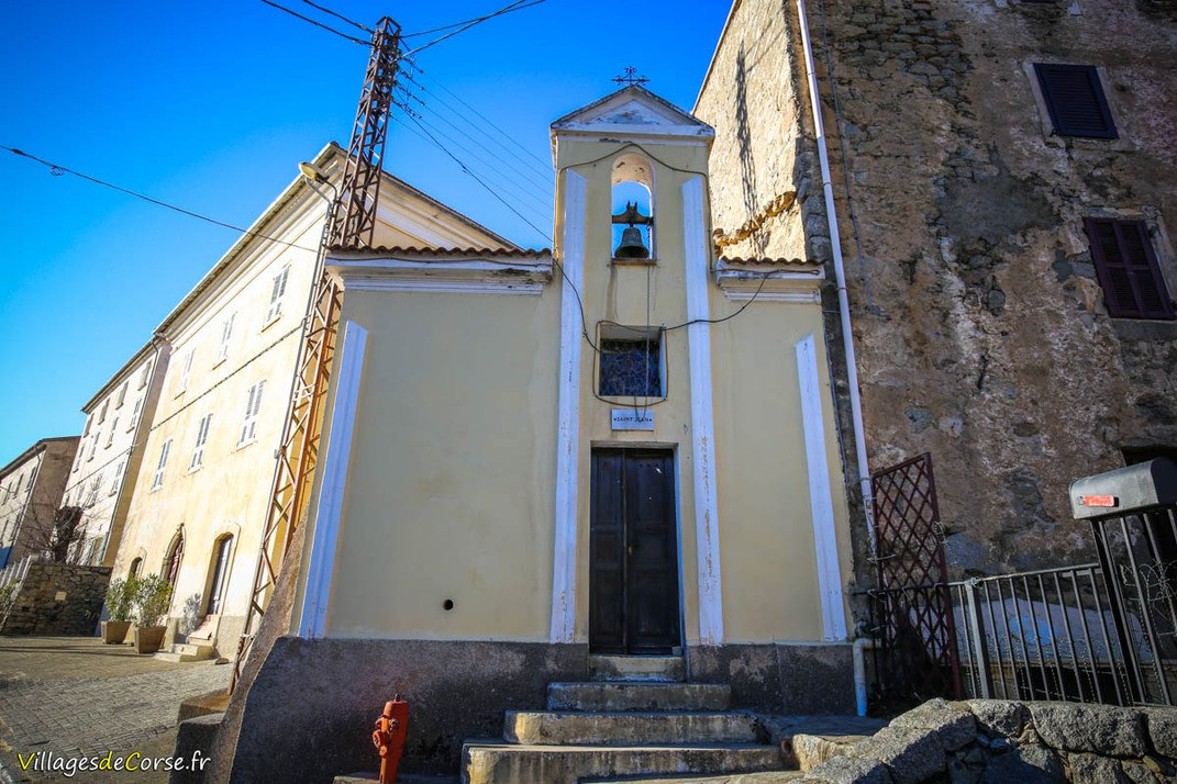 Chapelle - Saint Jean - Calacuccia