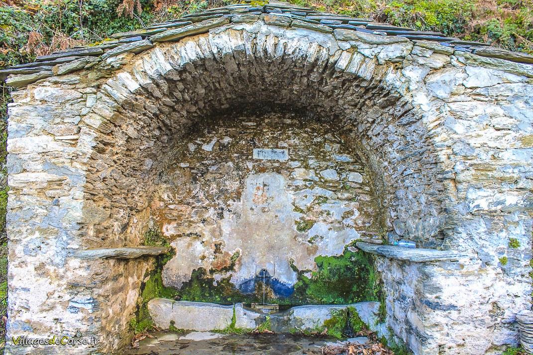 Fontaine - Funtana Nova - Canale di Verde
