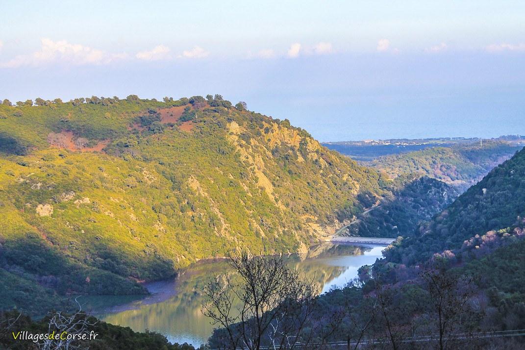 Barrage d'Alesani - Chiatra