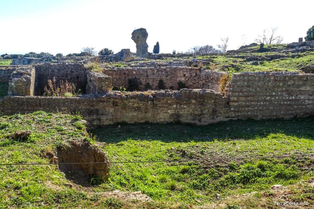 Site archéologique - Aléria