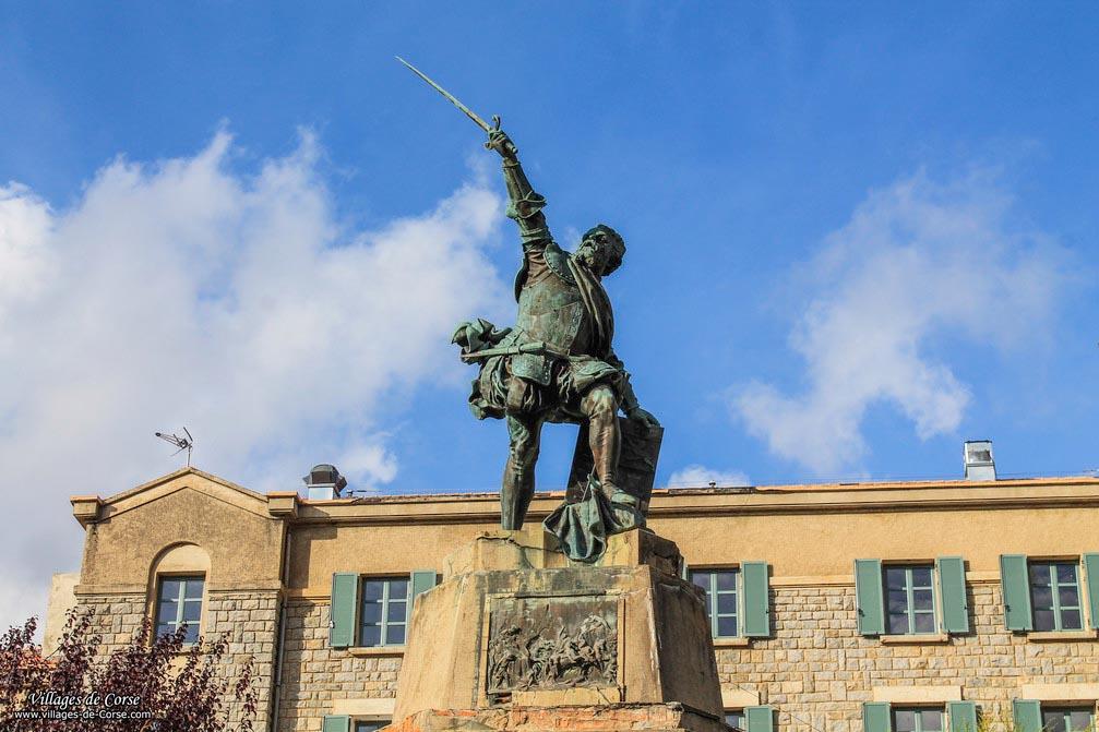 Statue - Sampieru Corsu - Bastelica