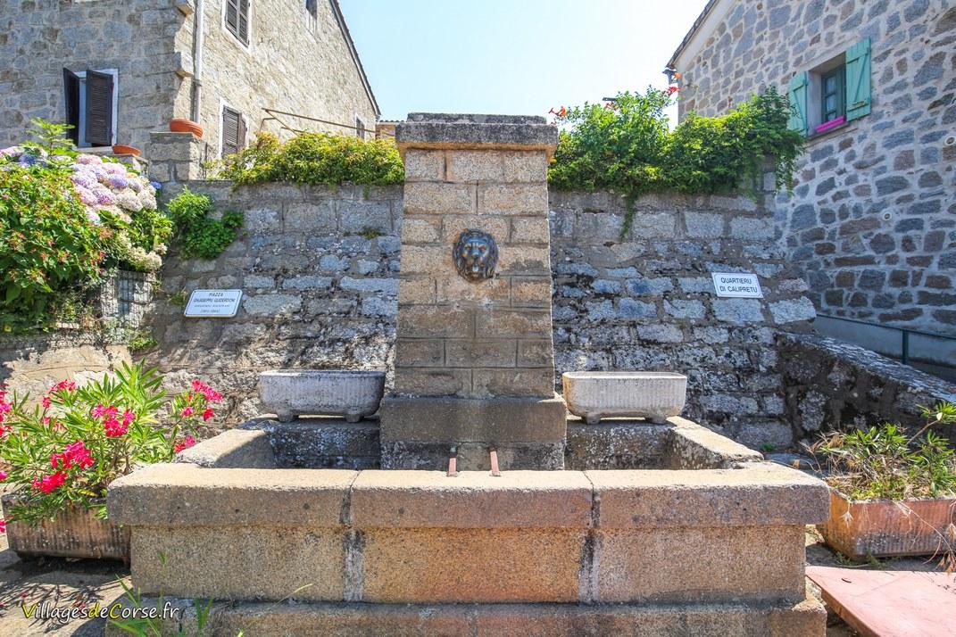 Fontaine de Calipretu - Casalabriva