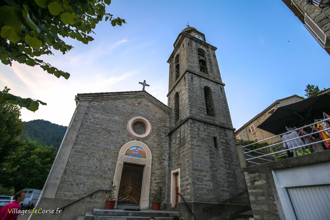Eglises - Sainte Marie de l'Annonciation - Ciamannacce