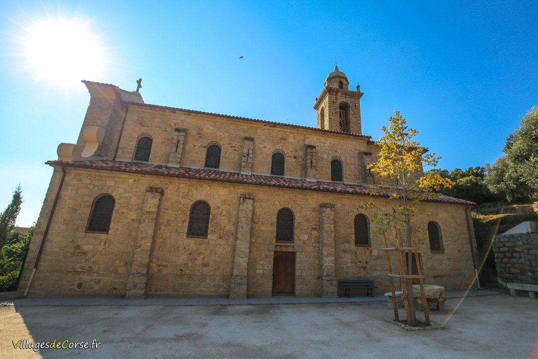 Eglise - Saint Augustin - Olivese